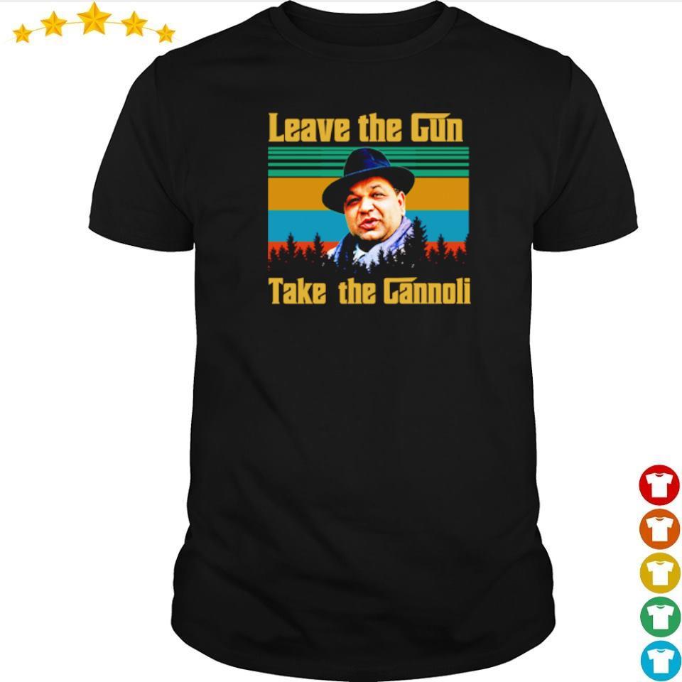 Leave the Gun take the Gannoli vintage shirt