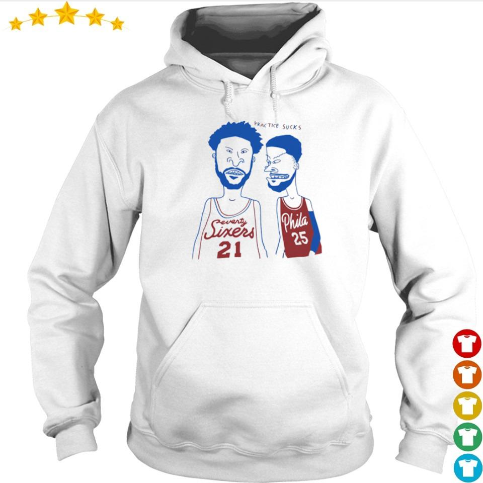 Practice sucks Buthead and Beavis s hoodie
