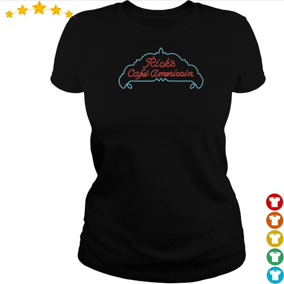 Ricks cafe Americain Casablanca s ladies tee