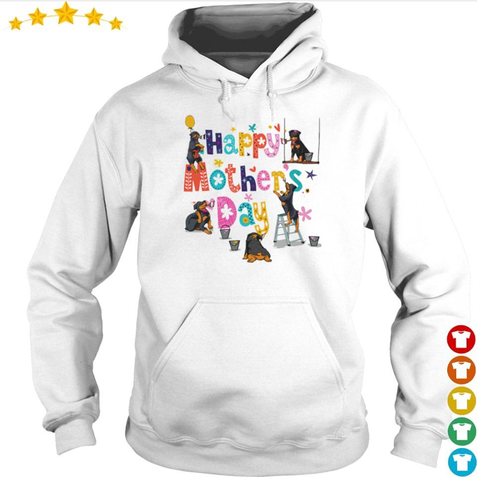 Rottweiler Happy Mother's Day s hoodie