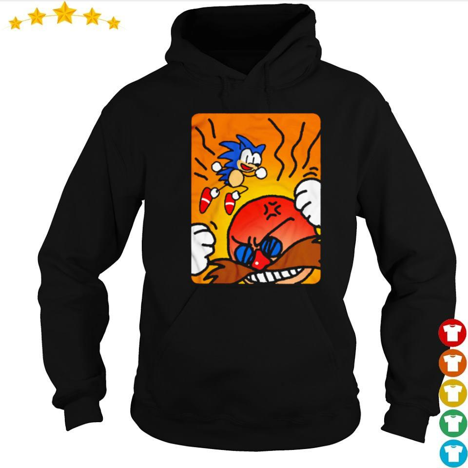 Sonic and Doctor Eggman Hard-boiled s hoodie