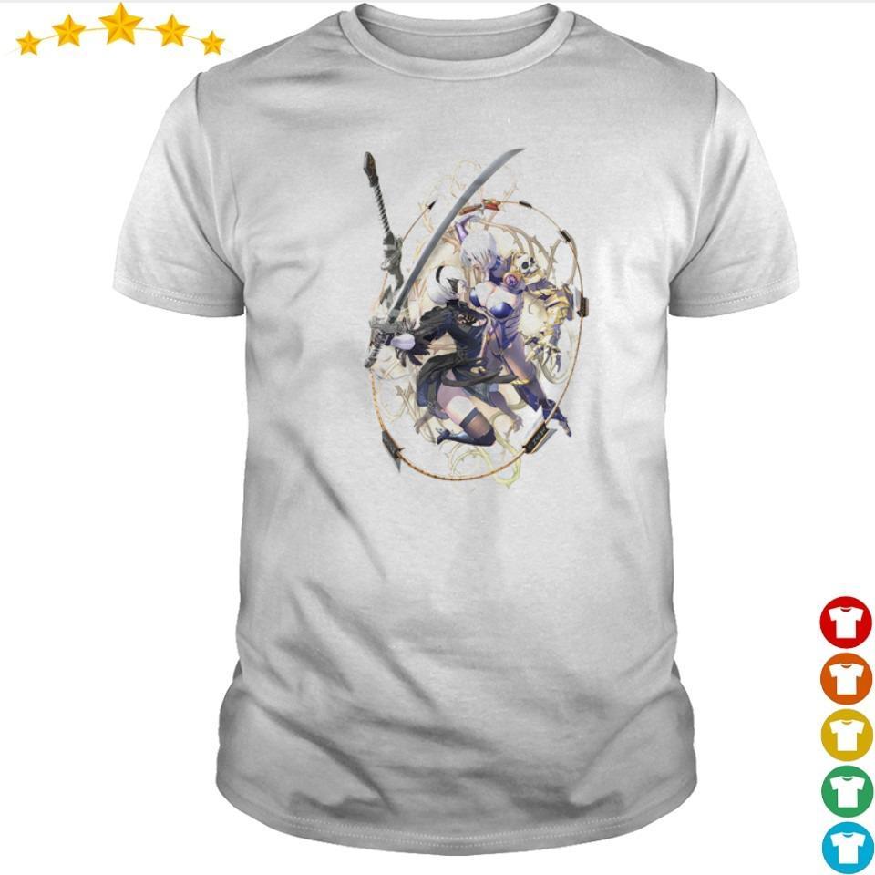 Soulcalibur VI NieR Automata's 2B vs Ivy Valentine shirt