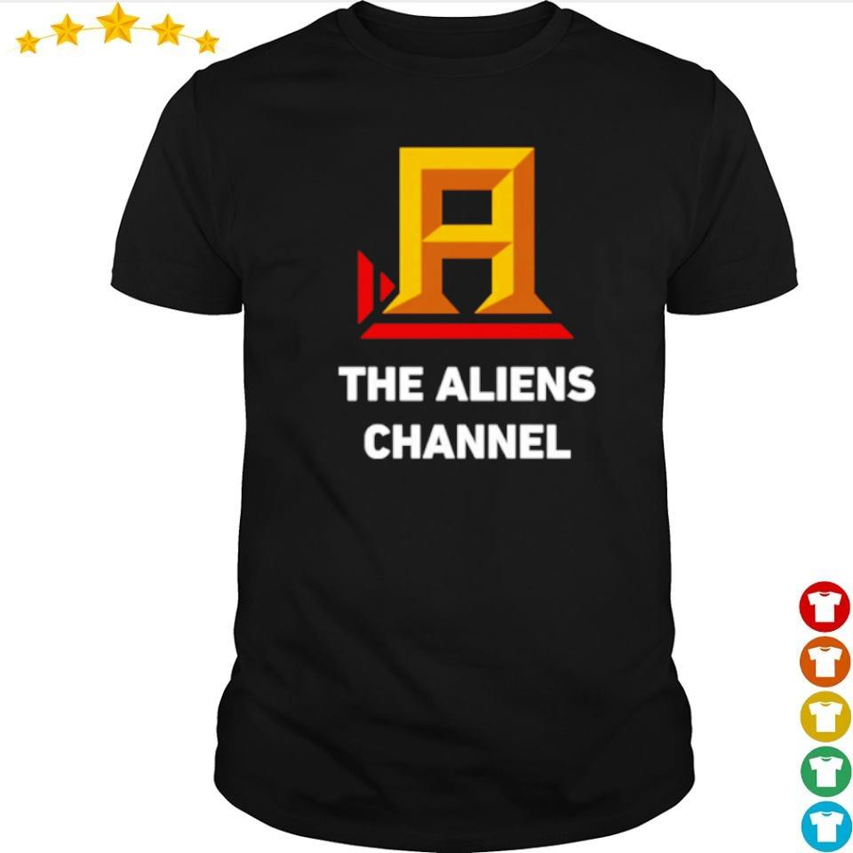 The Aliens Channel shirt