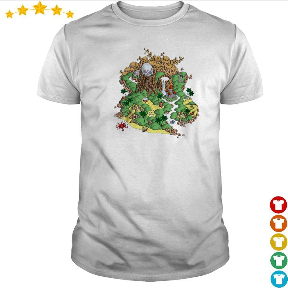 The Legend of Zelda Koholint Island shirt