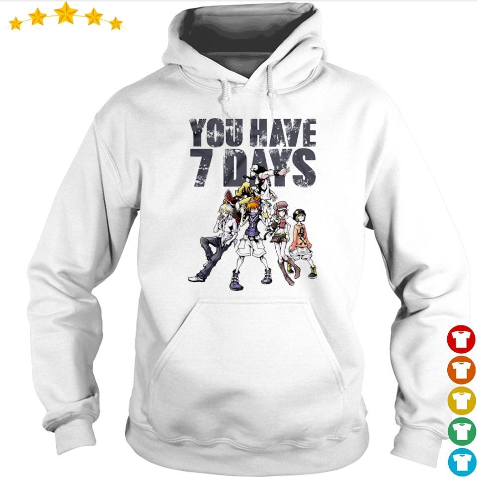 The World Ends With You you have 7 days s hoodie