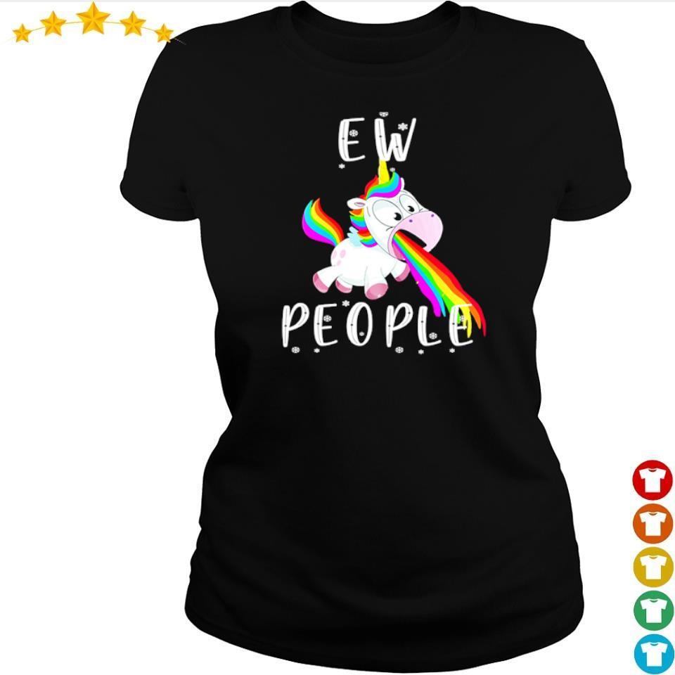 Unicorn ew people s ladies tee