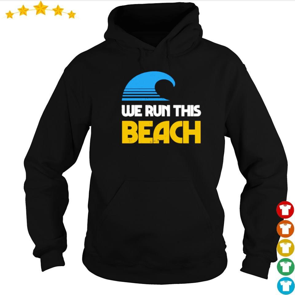 We run this beach s hoodie
