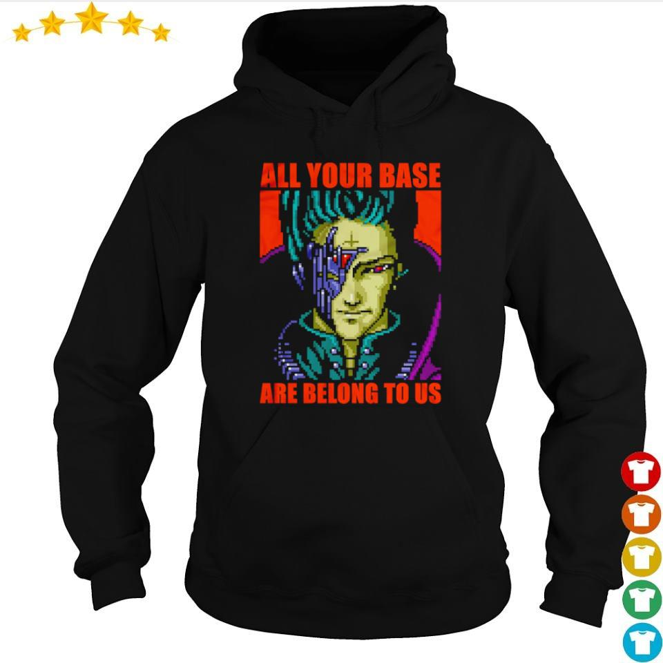 Zero Wing all your base are belong to us s hoodie