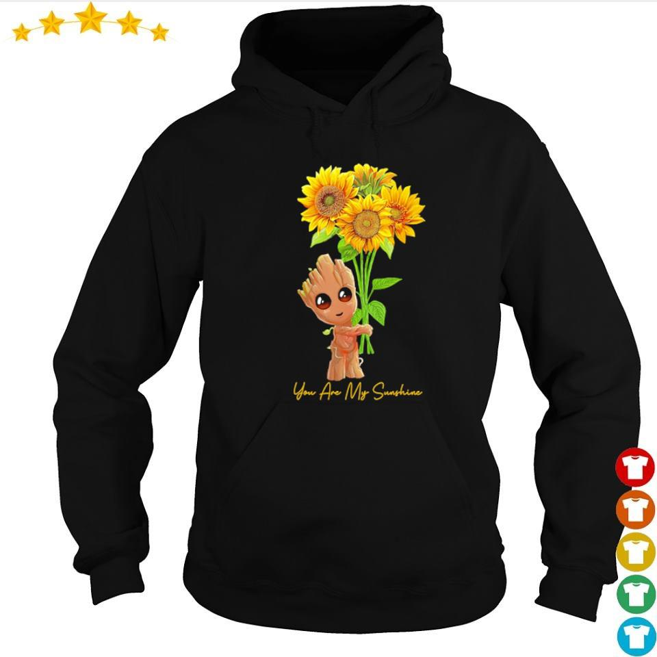 Baby Groot you are my sunshine s hoodie