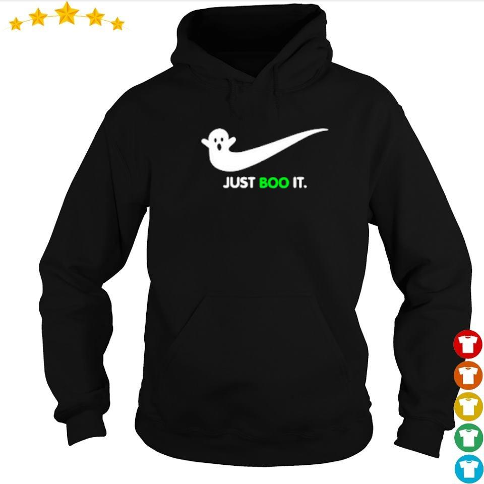 Halloween Ghost Nike Just Boo It s hoodie