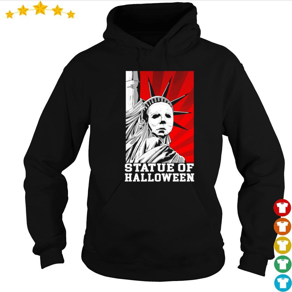 Horror movie Michael Myers statue of Halloween s hoodie