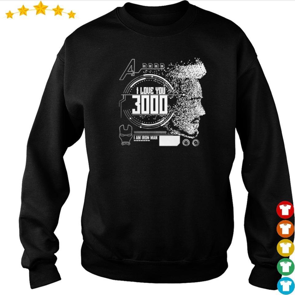 Iron Man Tony Stark I love you 3000 I am Iron Man s sweater
