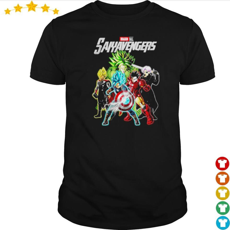 Marvel Studio Dragon Ball Saiyavenger shirt