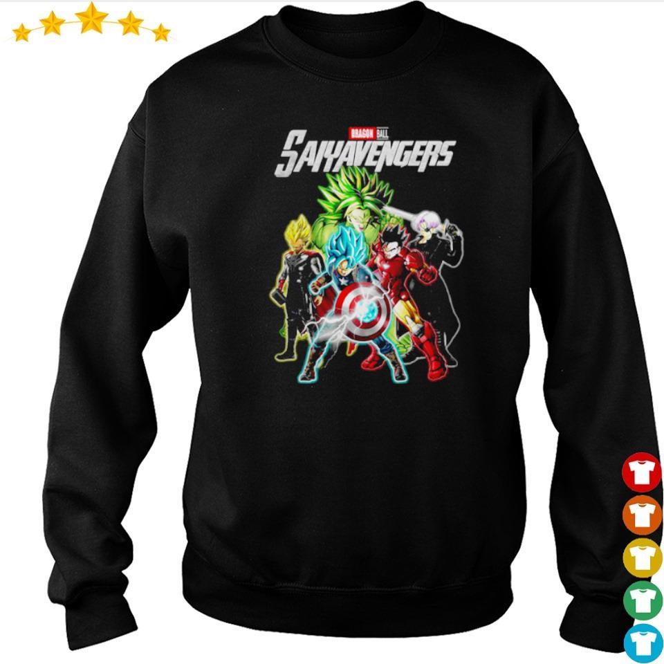 Marvel Studio Dragon Ball Saiyavenger s sweater
