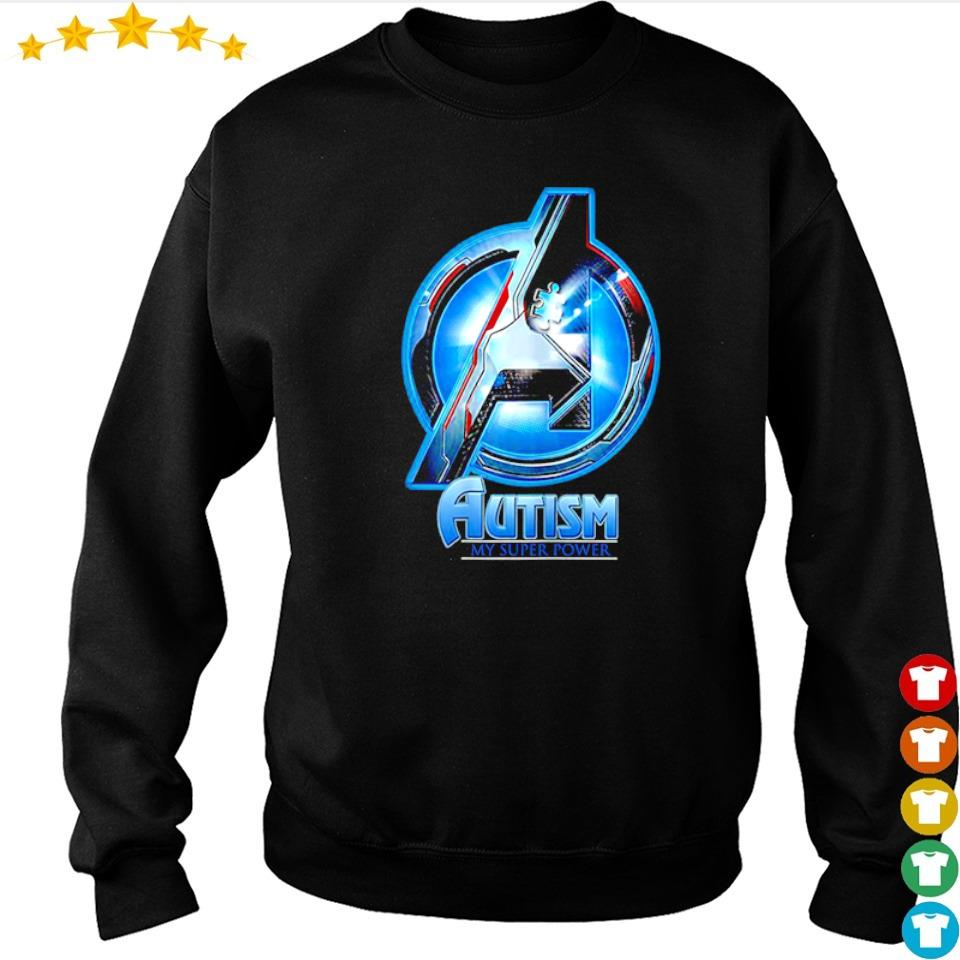 Marvel Studio The Avengers autism awareness my super power s sweater
