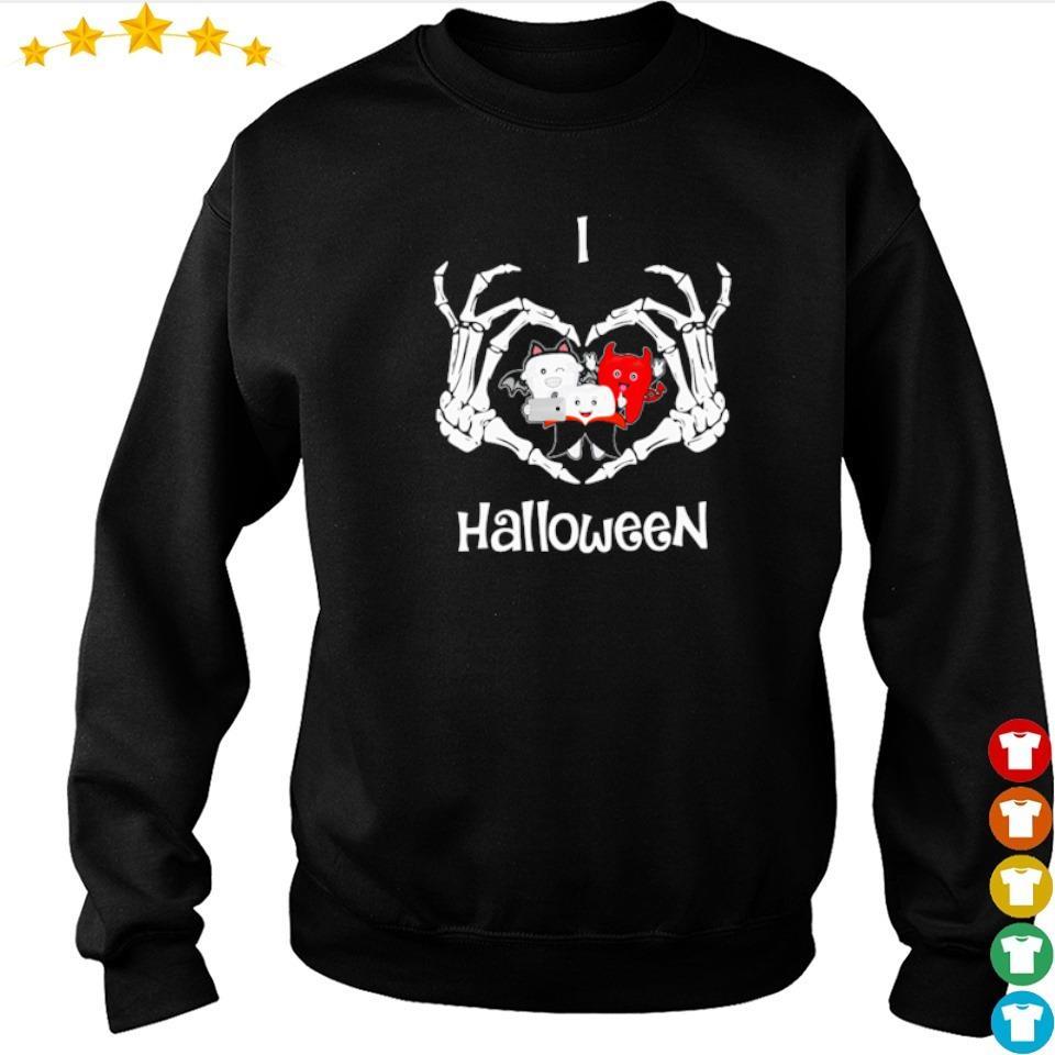 Official dental I love Halloween s sweater