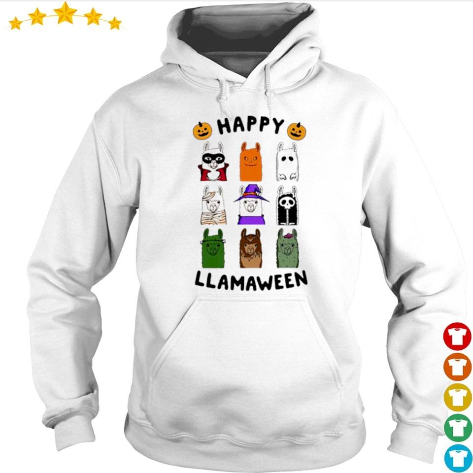 Scary Happy Llamaween Halloween s hoodie