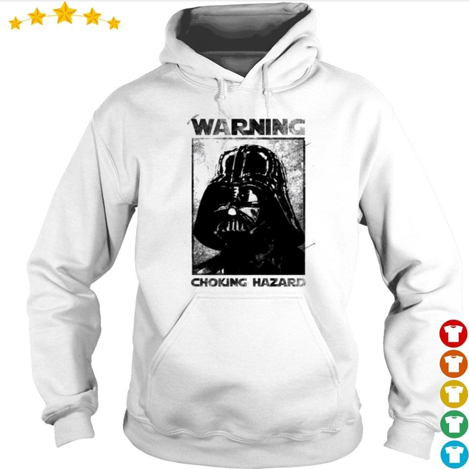 Star Wars Darth Vader warning choking hazaed s hoodie