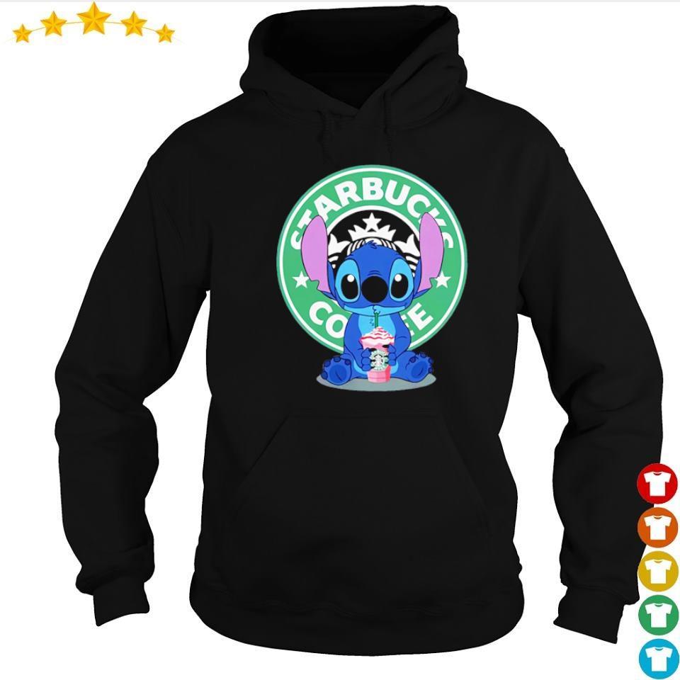 Stitch love Starbucks Coffee s hoodie