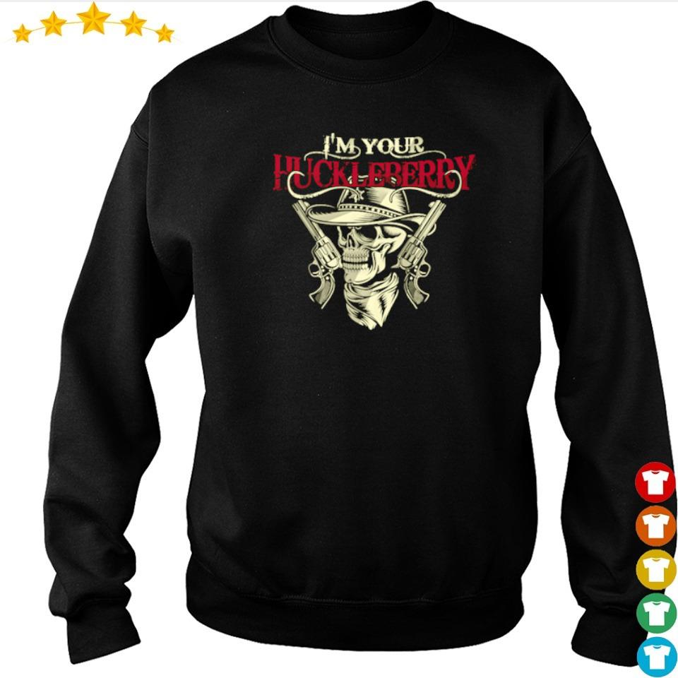 Tombstone I'm your huckleberry guns s sweater