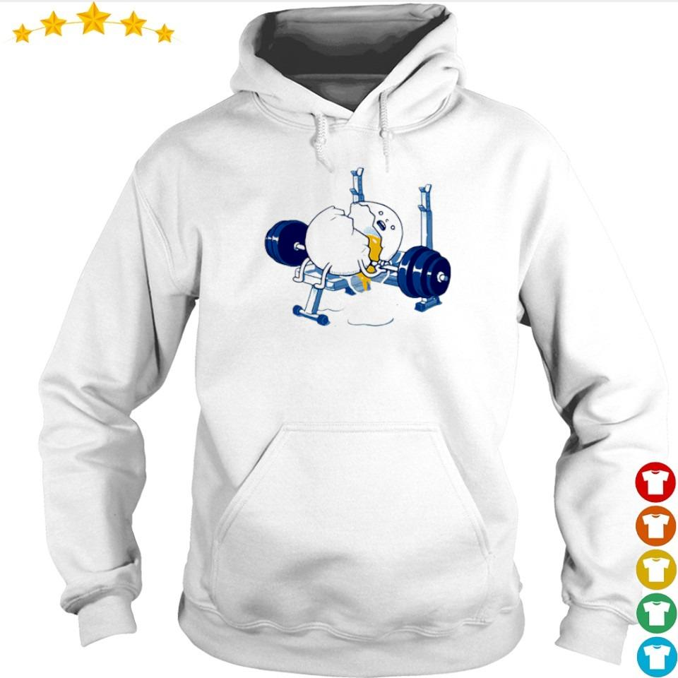 Weightlifting incident fitness egg s hoodie