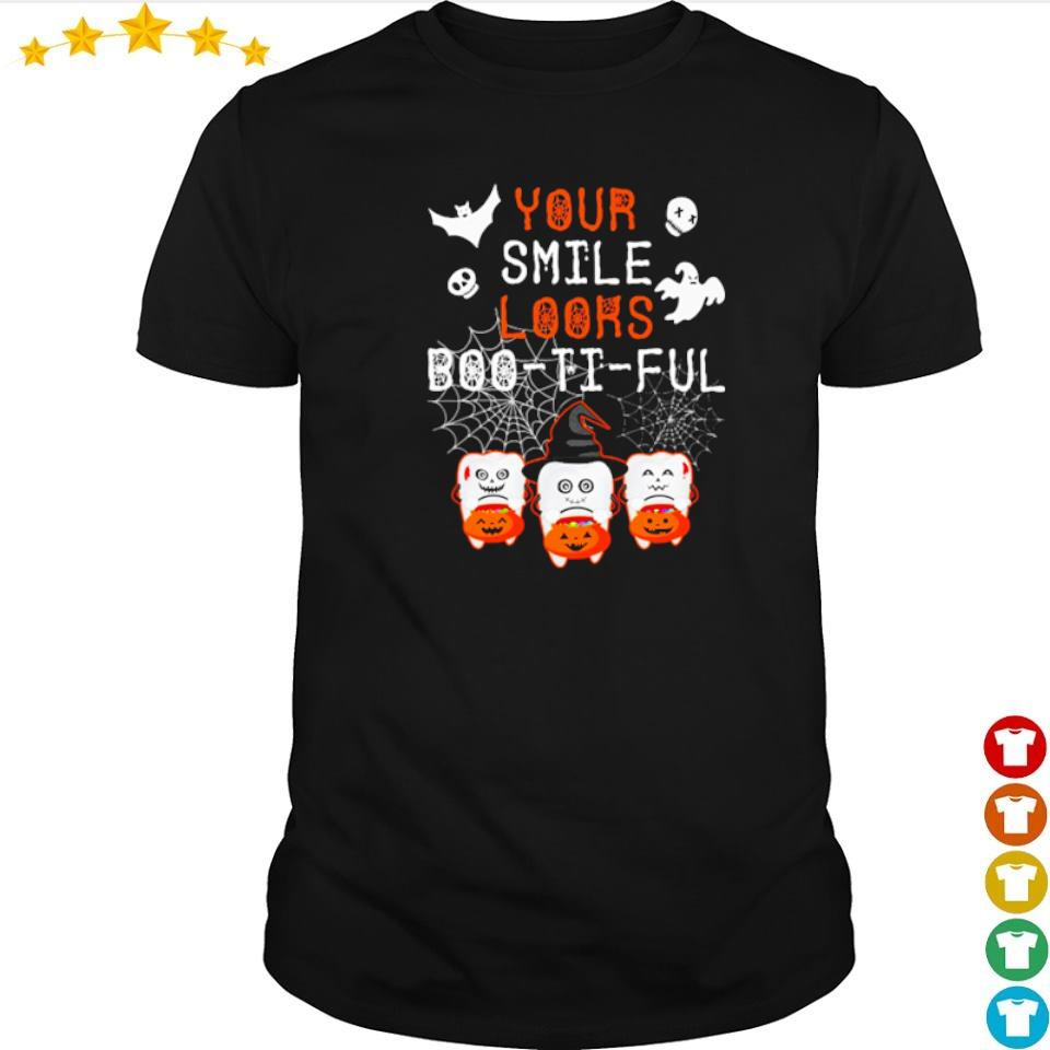 Your smile looks boo it ful happy Halloween shirt