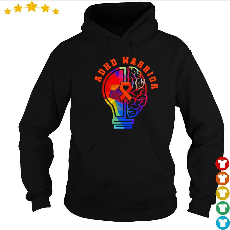 ADHD fights attention deficit warrior s hoodie