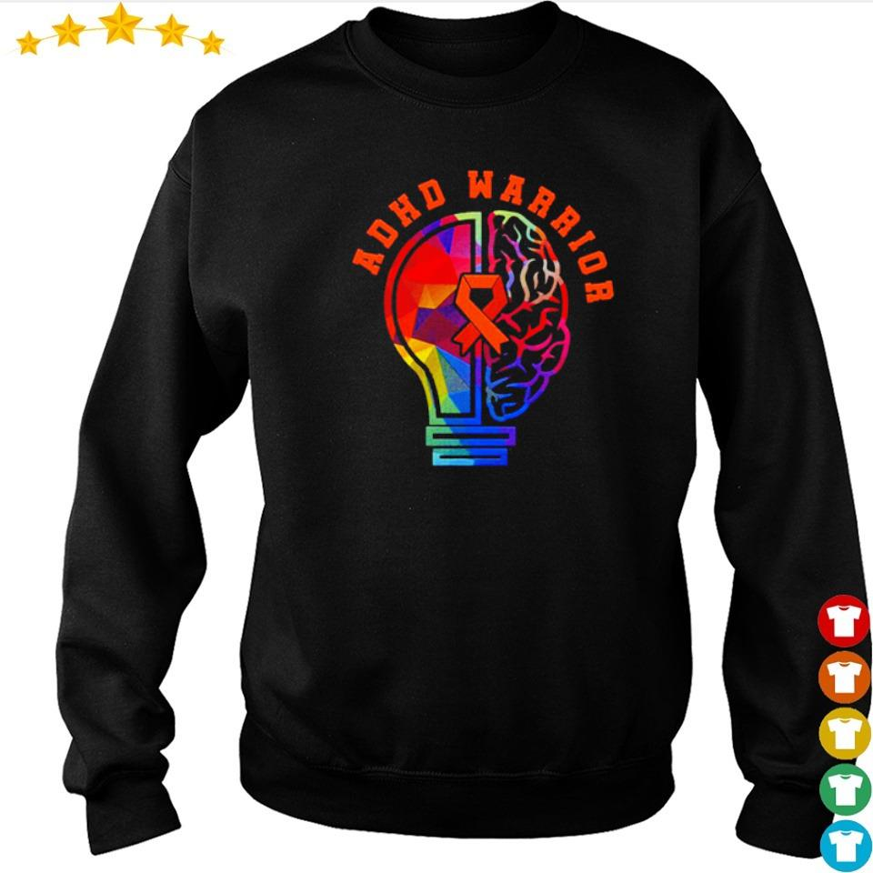 ADHD fights attention deficit warrior s sweater