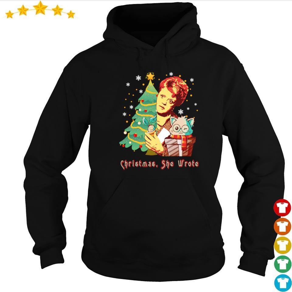 Angela Lansbury Christmas she wrote s hoodie