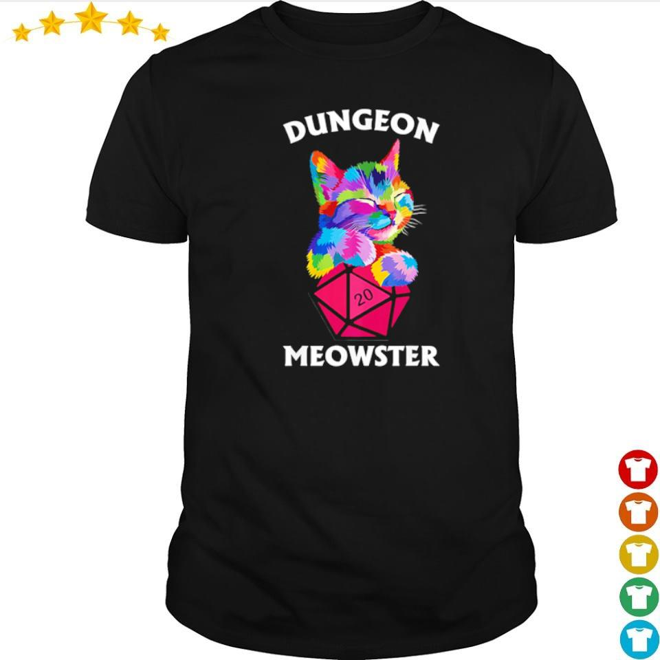 Awesome dungeon cat meowster shirt