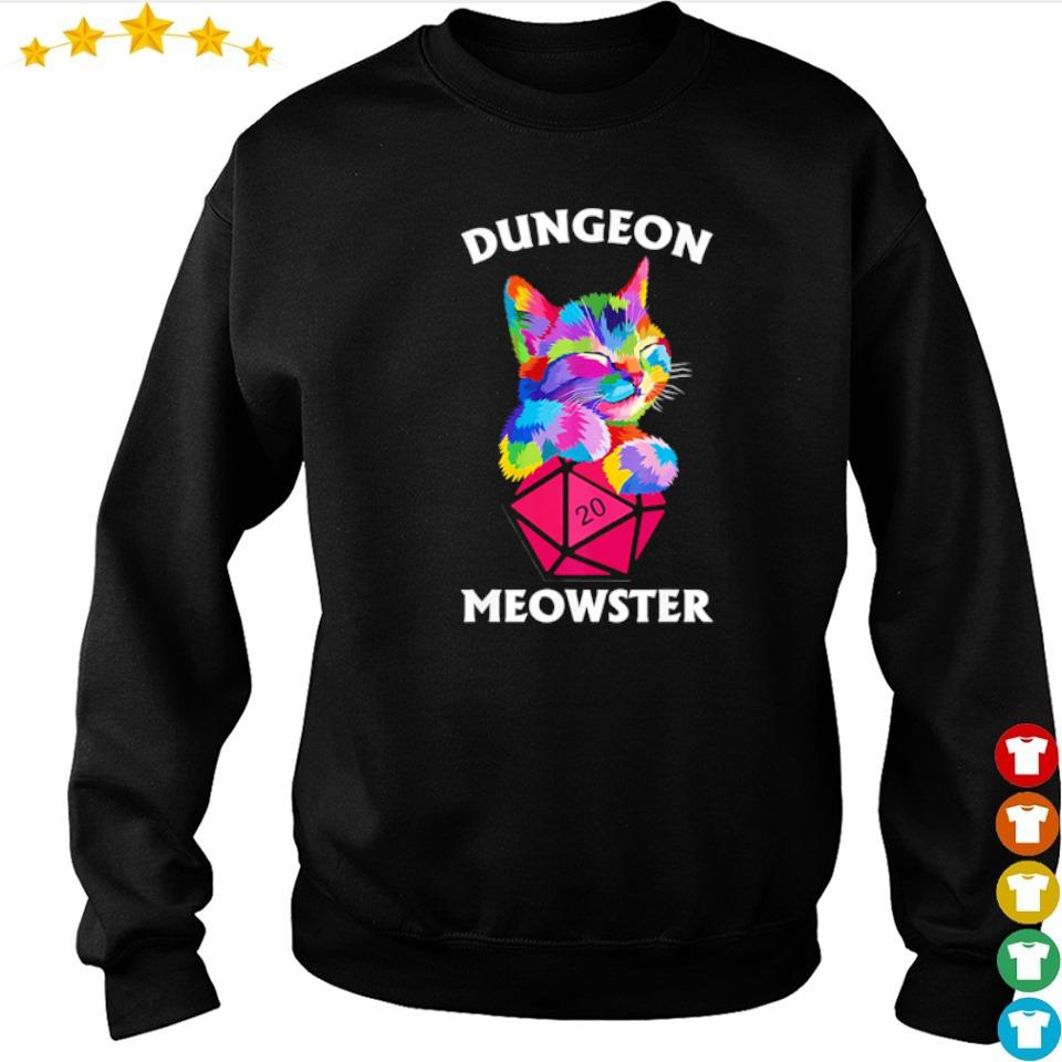 Awesome dungeon cat meowster s sweater