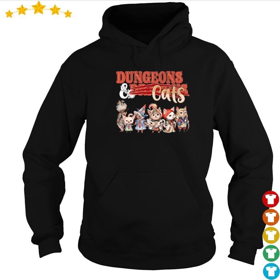 Awesome dungeons and dragons cats s hoodie