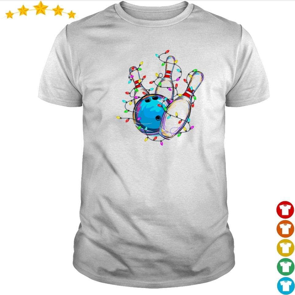 Bowling love happy Christmas shirt