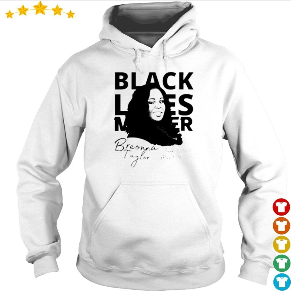 Breonna Taylor black lives matter signature s hoodie