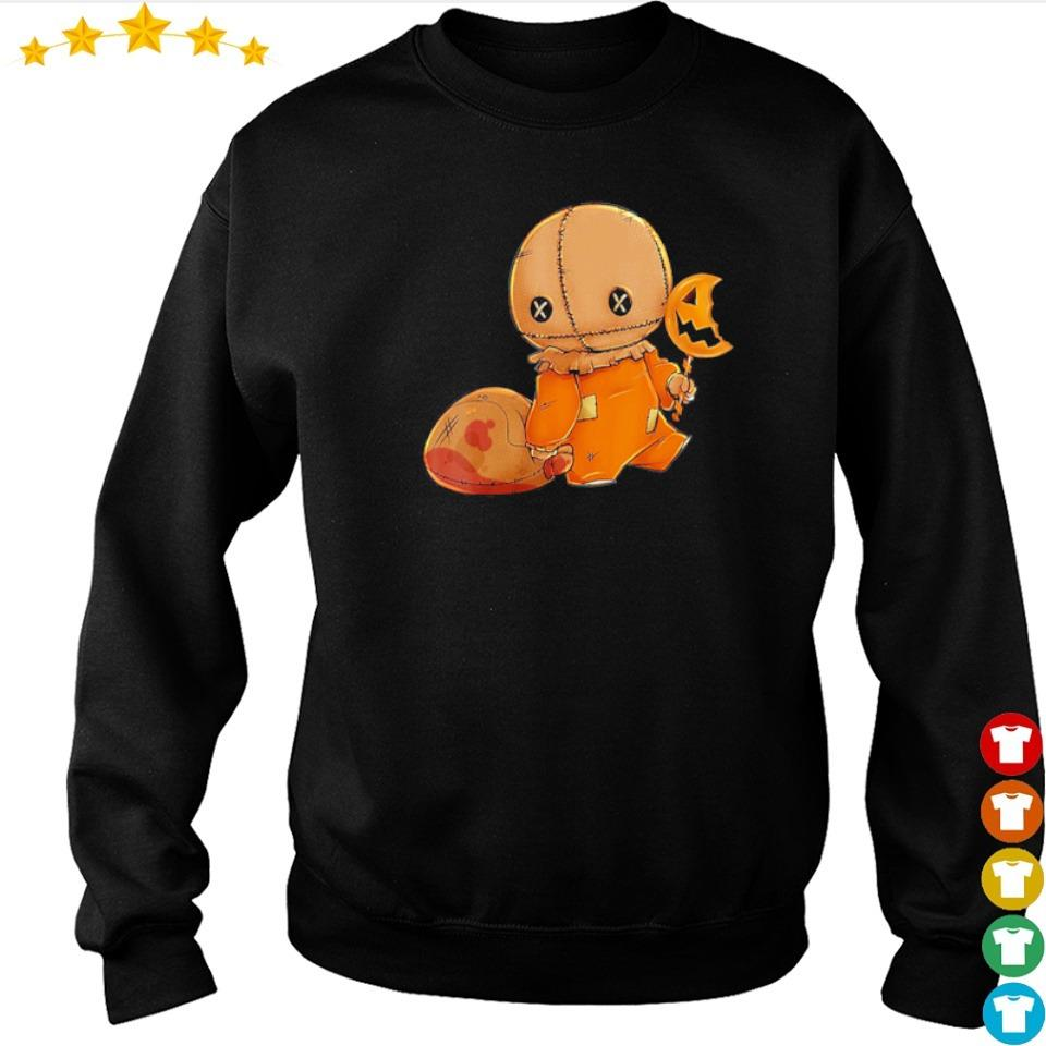 Cute Sam trick or treat happy Halloween s sweater