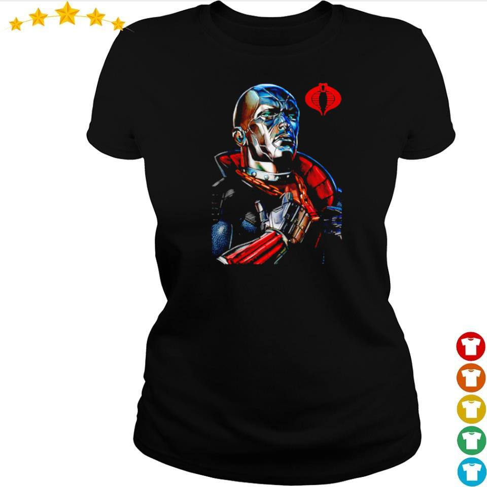 Destro classic pose GI Joe s ladies tee
