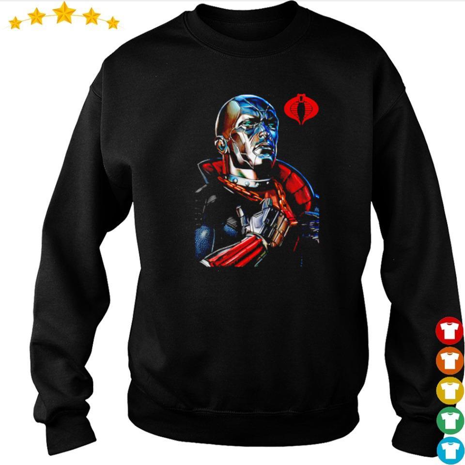 Destro classic pose GI Joe s sweater