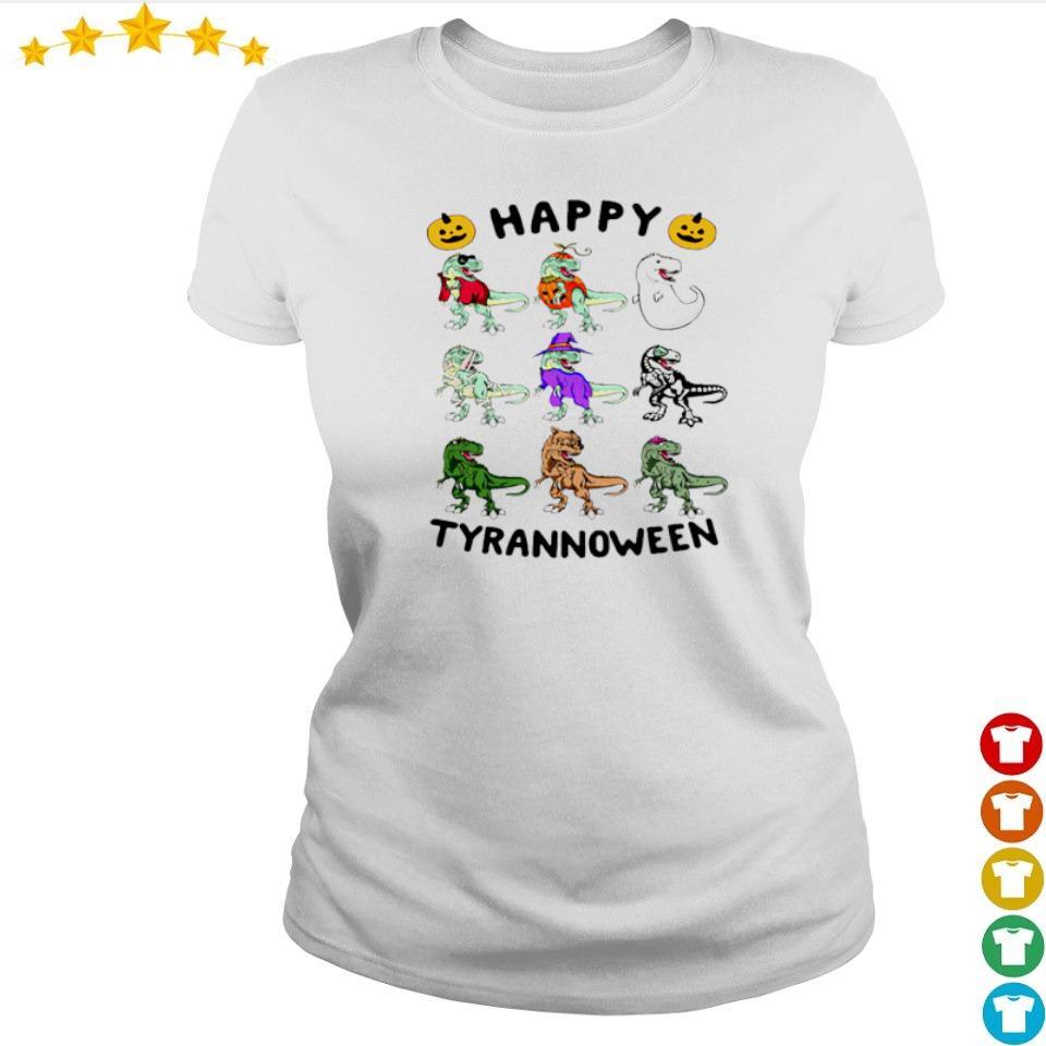 Dinosaur happy Tyrannoween Halloween s ladies