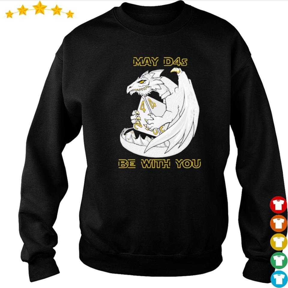 Dragon may d4s be with you s sweater