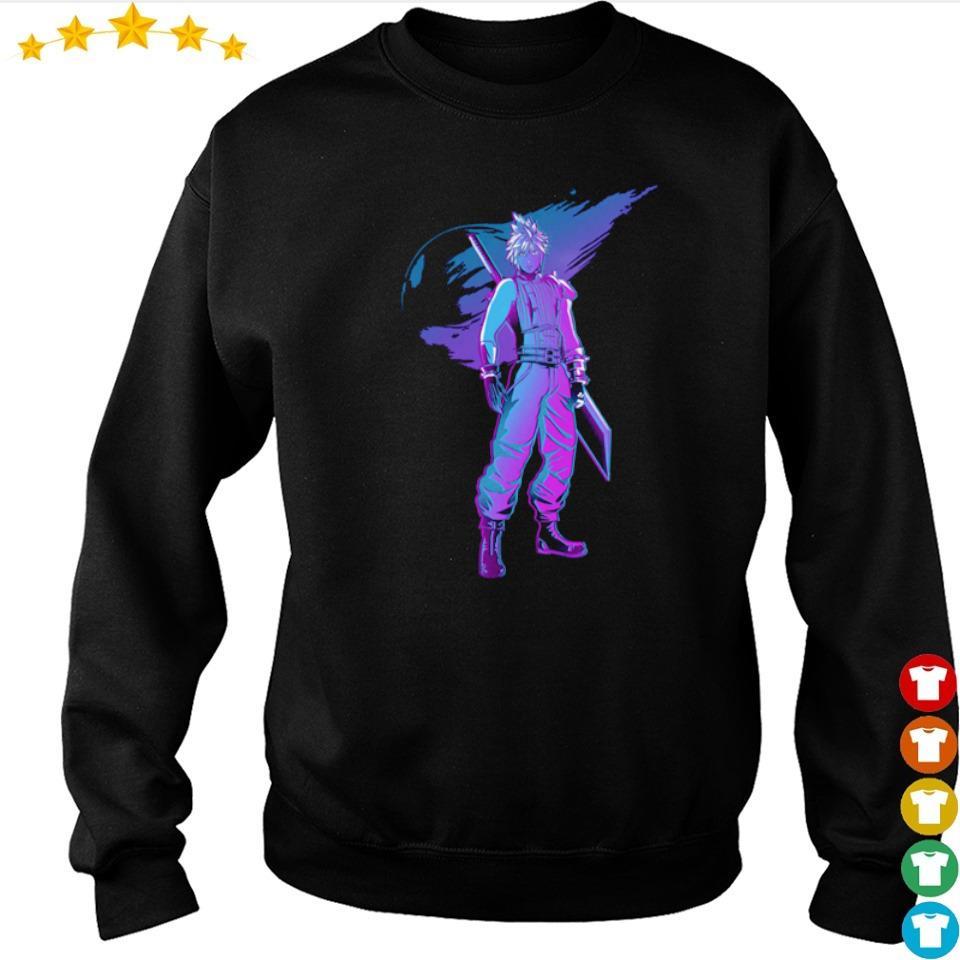 Fantasy Cloud Strife retro s sweater