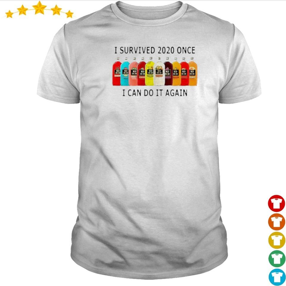 I survived 2020 once I can do it again shirt