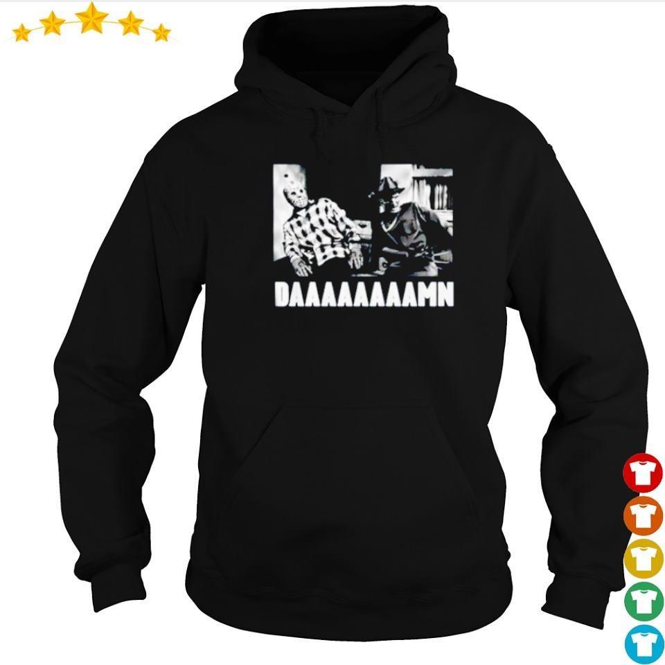 Jason Voorhees and Freddy Krueger daaaaaamn s hoodie