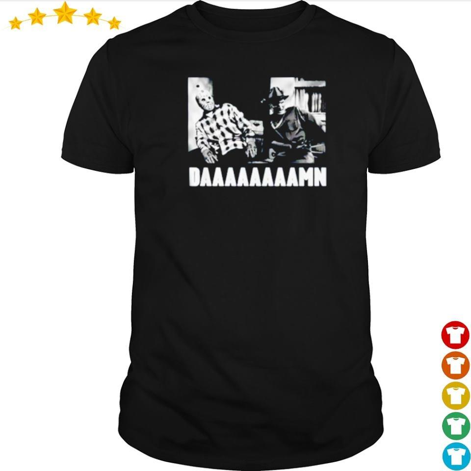 Jason Voorhees and Freddy Krueger daaaaaamn shirt