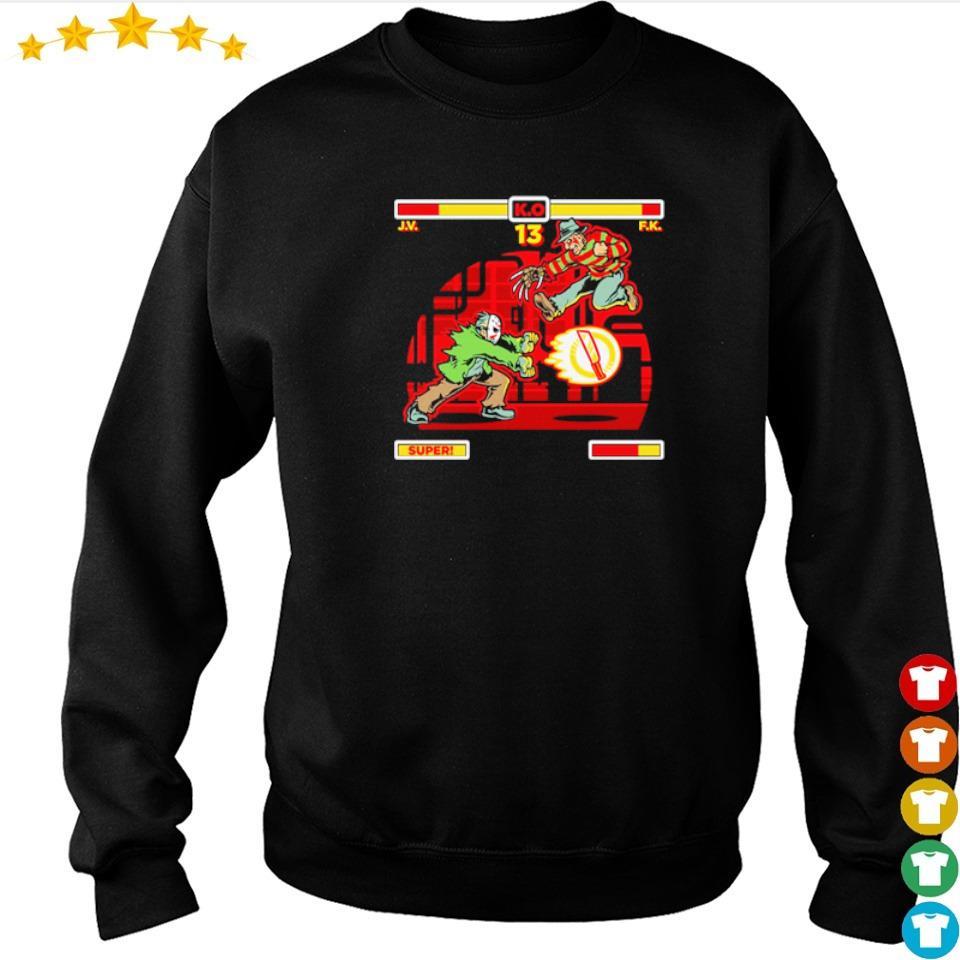 Jason Voorhees vs Freddy Krueger s sweater