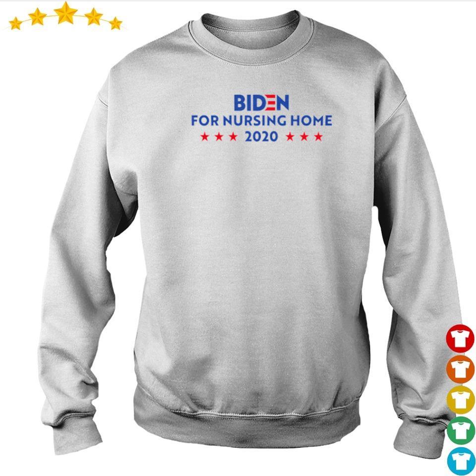 Joe Biden for nursing home 2020 s sweater