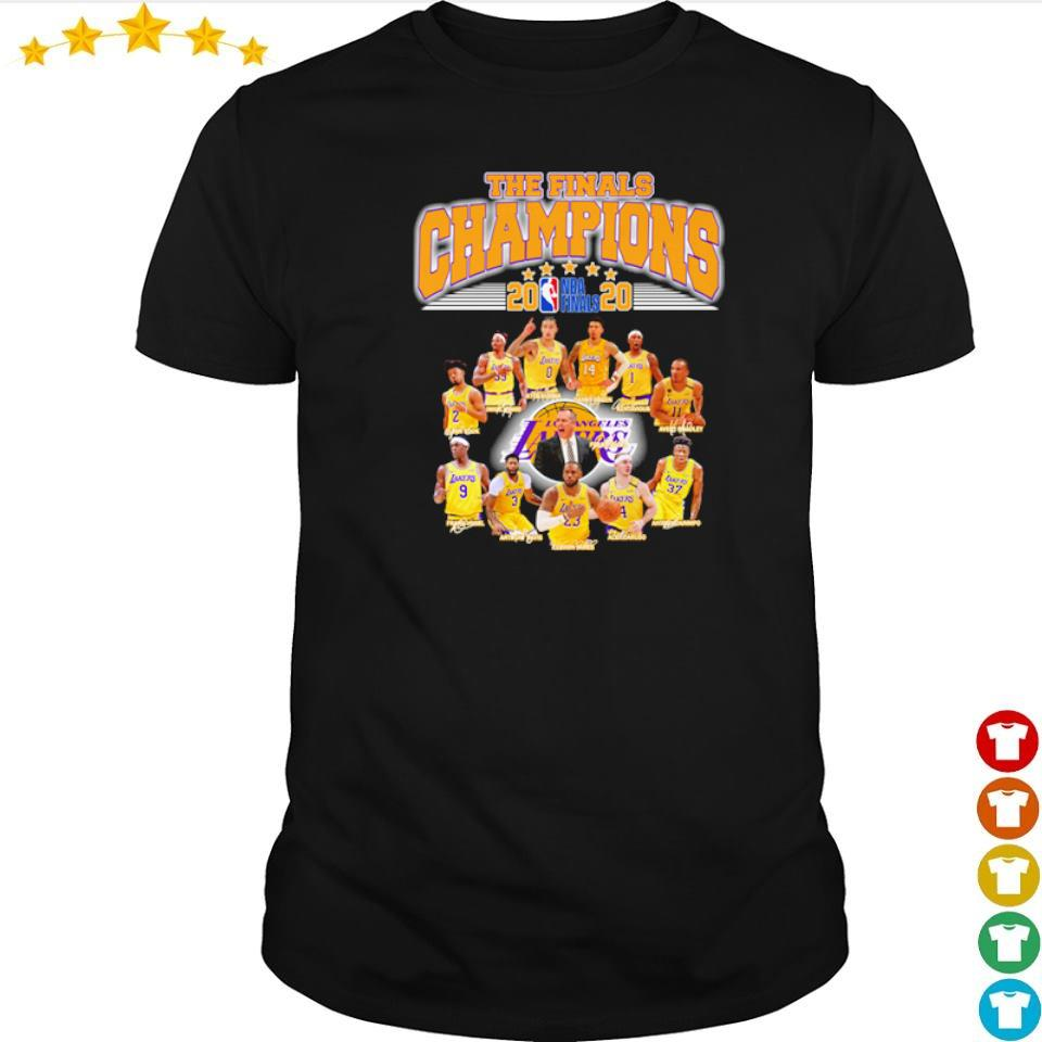 Los Angeles Lakers the finals champions 2020 shirt