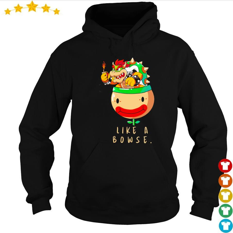 Mario Bros boss like a Bowse s hoodie