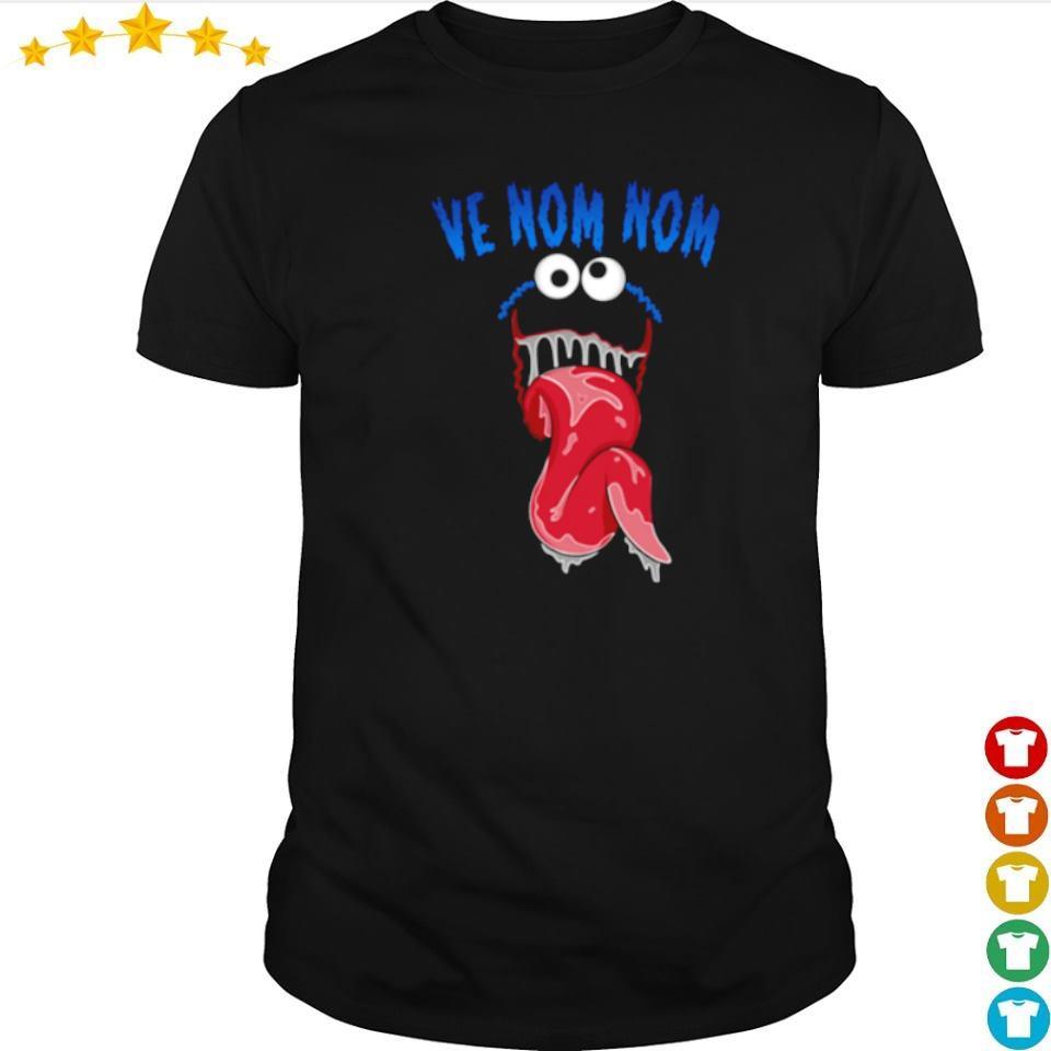 Marvel Venom ve nom nom shirt
