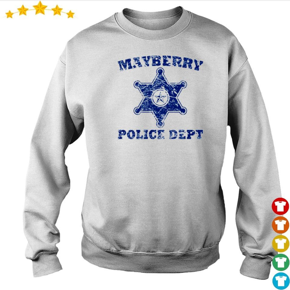 Mayberry police dept s sweater