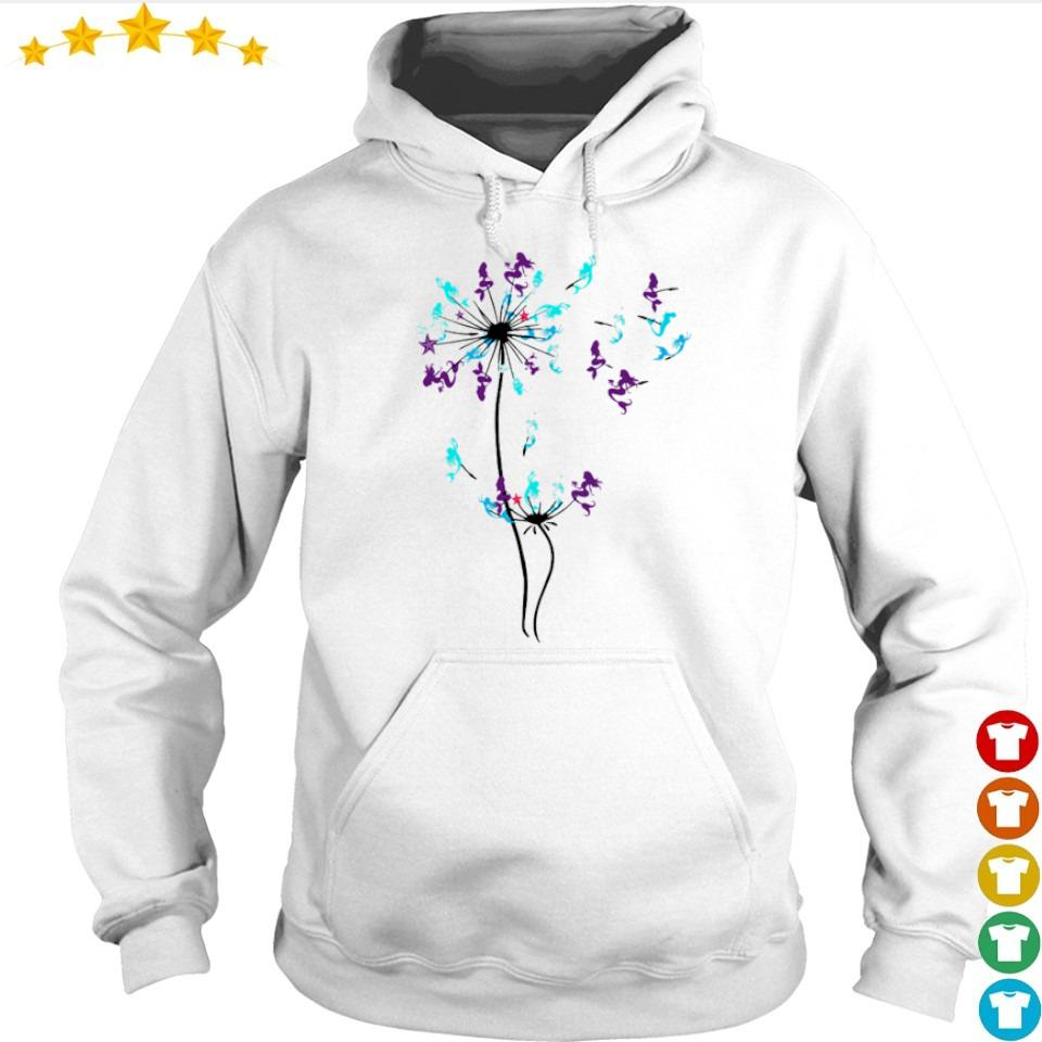 Mermaid dandelion cartoon s hoodie